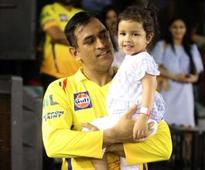 When Ziva wanted 'daddy's hug' during CSK match
