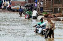 Heavy rainfall floods railways and roads in West Bengal