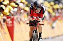 Rohan Dennis wins 1st stage of Tour de France with record speed