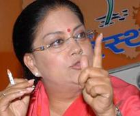 A grand return to power for Vasundhara Raje