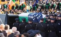Thousands Attend Funeral of Murdered New York Cop