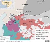 Turkey-backed rebels 'take Syrian town'