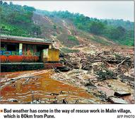 Landslide hits Pune village; 18 killed, 150 under rubble