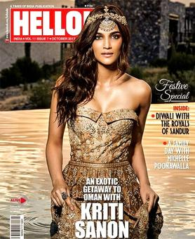 Oomphalicious! Kriti turns up the heat in gold