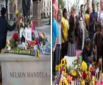 Songs, tears and prayers as South Africans pay tribute to Nelson Mandela