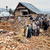 Floods wreak havoc in Kashmir, 16 feared dead in landslides