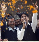 AAP's spectacular debut: Not a 'clean' sweep, but close enough!