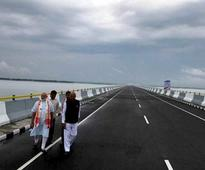 Assam gets Bhupen Hazarika bridge, PM promises economic revolution in Northeast