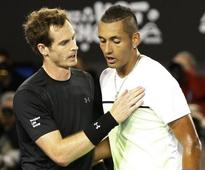 Kyrgios bows out with good memories and another broken racquet