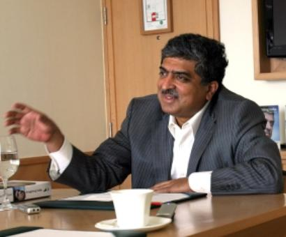 Nandan Nilekani using Aadhar scheme to campaign for polls: BJP