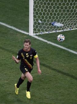Ten-man Belgium end Korea's hopes with 1-0 win
