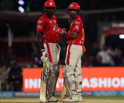 Turning Point: Gayle-Rahul slam KKR out of their way
