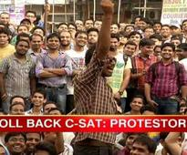 Agitating UPSC aspirants stopped from march to Parl, detained by police