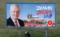Milos Zeman wins first round of Czech presidential election, will face pro-European challenger in run off