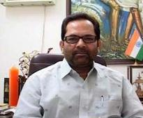 Naqvi attempts cricket jargon to take on Congress, says party on slippery pitch, needs some net practice
