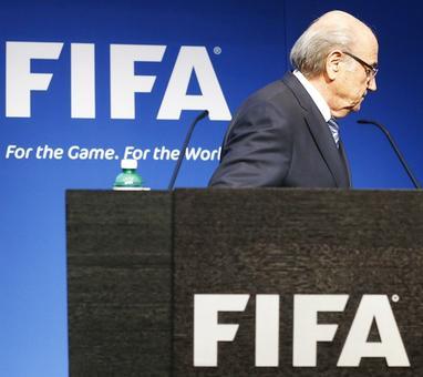 Problem solved, say sponsors after Blatter resigns