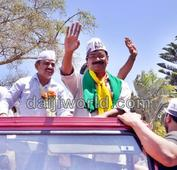 Bangalore: Ready to take on Modi if Varanasi wants: Kejriwal