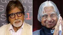 Amitabh Bachchan recalls achievement with APJ Abdul Kalam