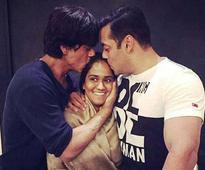 After Arpita's wedding, Shah Rukh Khan, Salman Khan are now 2am friends