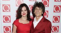 Ronnie Wood's wife mistaken for his daughter