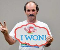 Luck of the draw! Man wins two $1 million lottery prizes in just three months