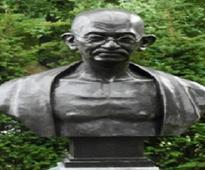 Gandhi's bust unveiled in South Korean city