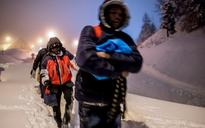 Photo Dispatch: Migrants risking life and limb to cross Alps from Italy to France