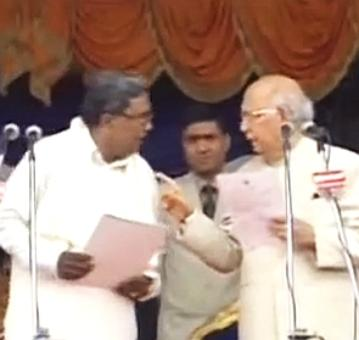 Cong worker dies during Siddaramaiah's swearing-in ceremony