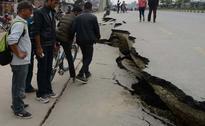 Desperate Nepalis Flee Capital as Aftershocks Spread Fear
