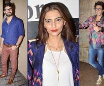 Khoobsurat screening: Sonam-Fawad, Farhan, Ranveer grace the event (see pics)