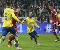 Bayern draws with Arsenal to reach CL quarters