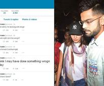 Virat tweets about his relationship with Anushka (see pics)