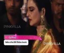 Rekha at the 60th Filmfare Awards