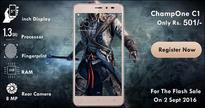 A smartphone with fingerprint scanner and 2 GB RAM at Rs 501