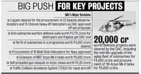 MoD Grounds Rs 6,000-crore Chopper Tender