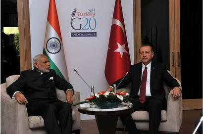 Turkish President Erdogan to arrive in India today