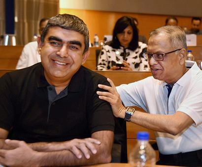 Infosys board responsible for the mess
