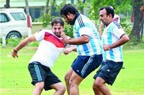 Germany XI and Argentina XI pull a draw in Lucknow
