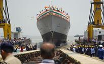 India's newest stealth destroyer INS Visakhapatnam launched in Mumbai