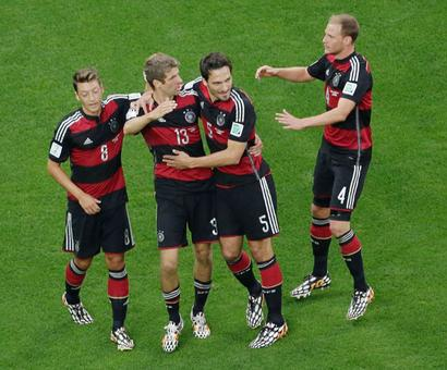 PHOTOS: Germany pump seven past hosts Brazil, make eighth final