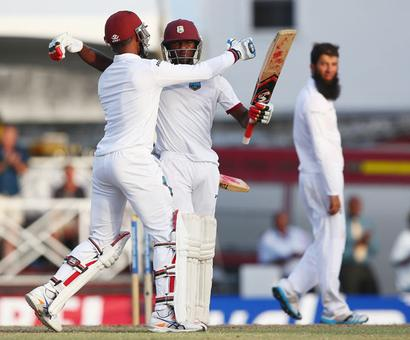 Windies stun England to win 3rd Test in three days, level series
