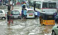 Rain brings Hyderabad to a standstill