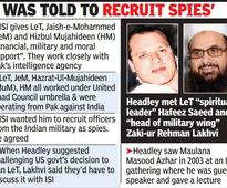 ISI gives LeT military, moral and financial support: Headley