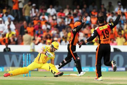 CSK beat Sunrisers Hyderabad, consolidate position