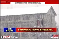 J&K: Srinagar shut down after heavy snowfall overnight