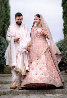 Congratulations to Virat and Anushka for getting married!