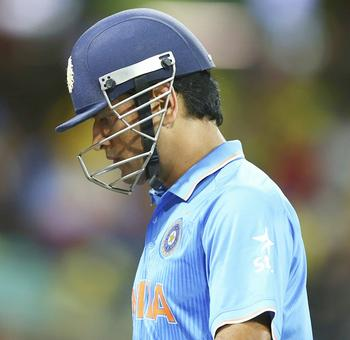 World Cup Blogs: No helicopter ride to glory for Dhoni this time