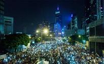 Wedding Snaps, Haircuts and a Library at Hong Kong Protests