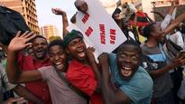Robert Mugabe's resignation sparks wild celebrations, his letter leaves no clue about successor