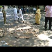Kolkata Municipal elections: Violence mars polls, crude bomb hurled near Raj Bhawan
